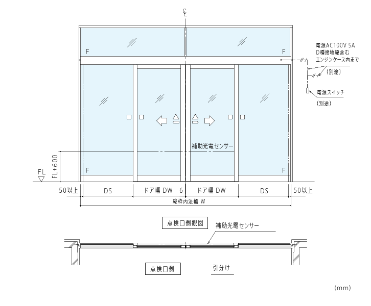 アルミニウム合金製防火設備用自動ドア 製品案内 自動ドアのナブコ