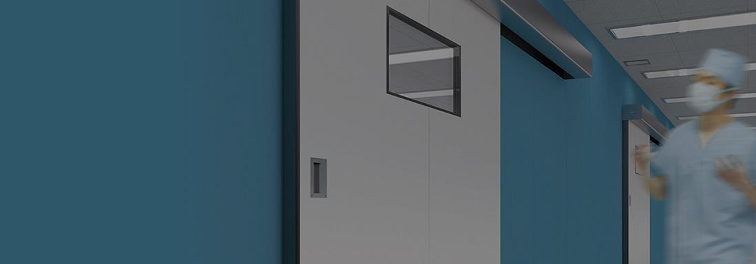 Hermetic sound proof door product line up nabco