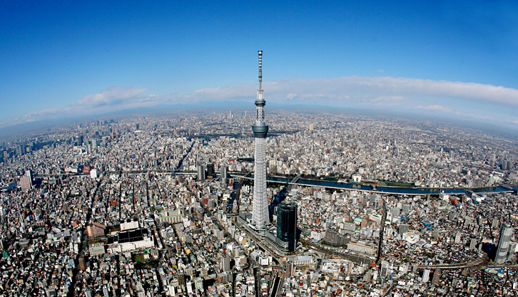 Tokyo Skytree Commercial Building References Nabco