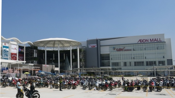 Aeon Mall Long Bien Vietnam Commercial Building